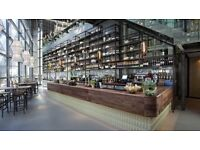 Chef de Partie required for City of London venue - The Drift Bar - near Liverpool Street