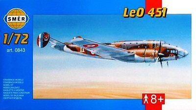 LIORE ET OLIVIER LeO 451 ARMEE DE L''AIR/FRENCH AF MARKINGS 843 1/72 SMER