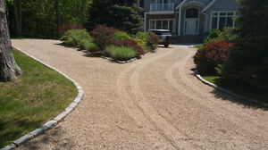GRAVEL AND CRASH ROCK DRIVEWAYS AND WALKWAYS