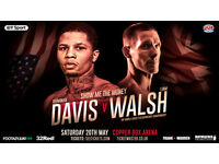 """SHOW ME THE MONEY"" BOXING COPPER BOX FLOYD MAYWEATHER PROTEGE GEVONTA DAVIS VS LIAM WALSH, LONDON"