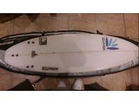 5ft 6 Quiver - The Hobbit surfboard, excellent condition. bargain
