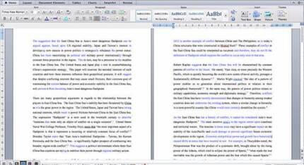Essay Editing - University Level