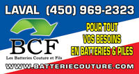 2015 Honda Civic batterie 40$ reconditionné ou 65$ neuve