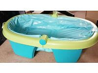 Summer inflatable foldable baby bath