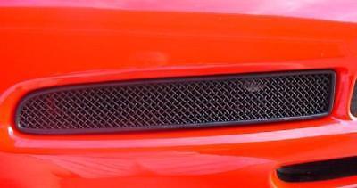 (C5 Corvette 97-04 Z06-Style Fog Light Front Screen w/Plastic Shroud-Matte Black)