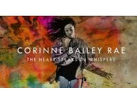 4 CORINNE BAILEY RAE TICKETS ( O2 Shepherd's bush empire) Nov 8th
