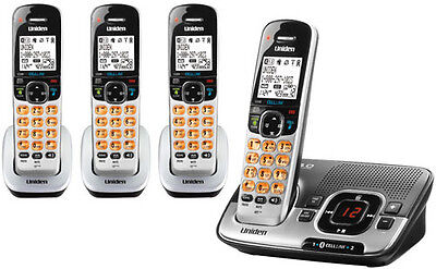 SAVE 28% Uniden D1780-4BT DECT Cordless Phone Cell-Link Connects 2 Cell Phones!