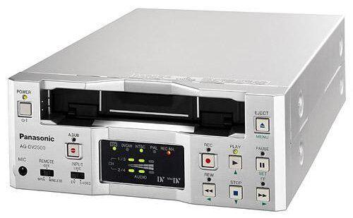 PLAY NTSC PAL DVCAM MiniDV Mini DV Tapes Panasonic AG-DV2500 Player Recorder VCR