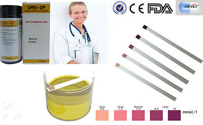 DR T&T ™  professional 100 x Urine Test strips for Glucose and (Urine Test Strips For Glucose And Protein)