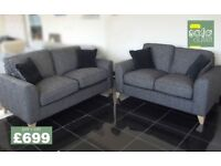 Designer Buoyant link corner sofa