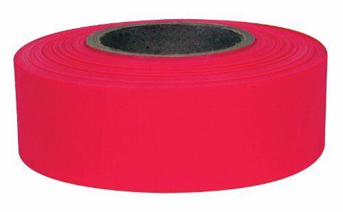 "IPG Flagging Ribbon, Red Glow, 1.18"" x 50 yd, (Single Roll)"