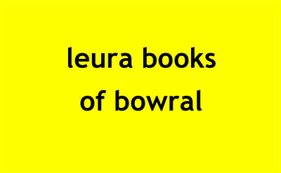 leura books of bowral