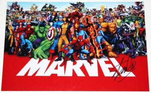 Image result for marvel poster stan lee