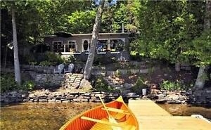 Discounted couples  getaway  lakefront cottage  on 12 mile !!