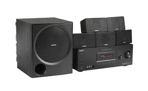 Sony Home Theatre System HT-DDW900 (Silver not Black as display)