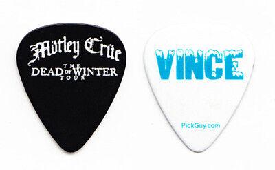 Motley Crue Vince Neil Dead of Winter Guitar Pick - 2010 Tour