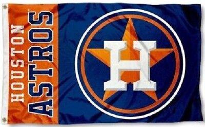 NEW Houston Astros MLB Baseball Large 3x5 Flag Banner FREE SHIPPING