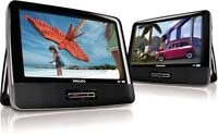 Philips PD9012p/37-Dual Widescreen Portable DVD PLAYER-OPEN BOX