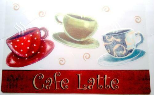 Coffee Cup Placemats Ebay