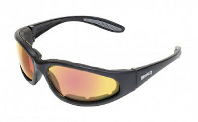 Global Vision Hercules  1 Plus 24 G Tech  Red A F Safety Glasses
