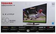 LED LCD 1080p Toshiba TV