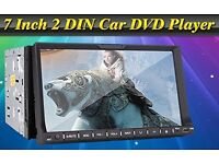 2 Din 7'' Car PC Video DVD Player BT Stereo