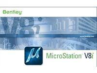 Microstation V8i Full Version 64bit PC Only