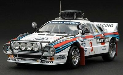 LAST BATCH! HPI #8231 Lancia 037 Martini 1986 Safari Rally 1/43 model