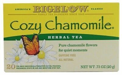 Bigelow Cozy Chamomile Herbal Tea Cozy Chamomile Herbal Tea