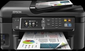 Malfunctioning EPSON WF.3620 4 in 1 Multifunction with 2 sets of ink