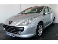 Peugeot 307 Diesel 1.6 Manual 5 doors Hatchback | Polo Golf seat ibiza audi ford fiesta