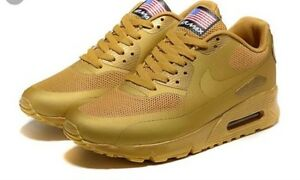 Gold air max 90 brand new