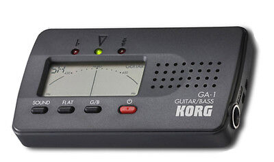 KORG SOLO INSTRUMENT GUITAR & BASS TUNER GA-1
