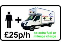 MAN & VAN, HOUSE REMOVALS, HANDYMAN, LOCAL & LONG DISTANCE, LOW COST, SINGLE & MULTIPLE ITEMS