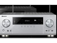 Pioneer dolby digital amp/home cinema for sale. Upto 110w to each of the outputs