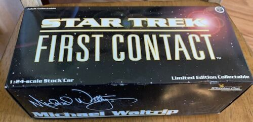 1996 Action 1/24 Michael Waltrip Star Trek First Contact Die Cast Free Shipping
