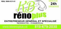 Entrepreneur General avec equipe! General Contractor with team!