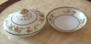 PRICE in AD Collector Plates Antique Noritake Dishes etc