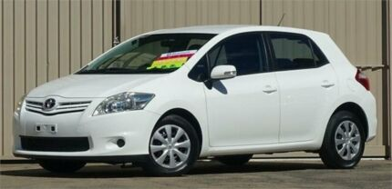 2010 Toyota Corolla ZRE152R MY11 Ascent White 4 Speed Automatic Hatchback Lismore Lismore Area Preview