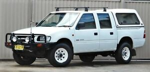 1999 Holden Rodeo TFR9 LX (4x4) White 5 Speed Manual 4x4 Crewcab Lismore Lismore Area Preview