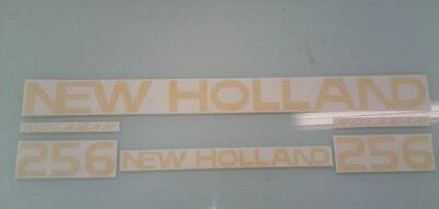 New Holland 256 Hay Rake decals