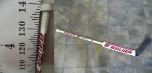 Équipement de hockey sur glace pour gardien de but Junior.