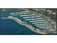 For sale mooring at Sanremo Portosole ITALY 16 mt or 18mt AVAILABLE