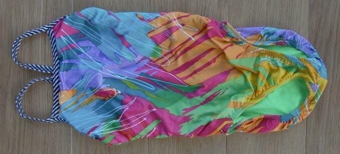 Womensgirls Mulit Coloured Dolphin Uglies Swimming Costume In
