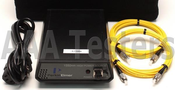 Perkin Elmer Singlemode 1550nm High Power Fiber Optic Light Source