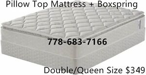 ★DEAL!100%BRAND NEW EURO-TOP MATTRESS AND BOX!SMART BUY!