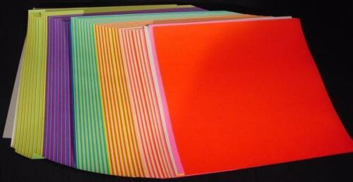 "180 Sheets Origami Paper 24 Colors One Sided 15cm (5.9"") Square"