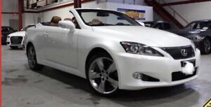 2011 Lexus IS350C 2DR Convertible/Leather/Heated/Cooled Seats