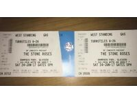 Stone Roses Hampden Sat 24th June Tickets standing x2