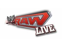 Floor seat tickets - WWE Raw Live Glasgow Hydro - televised show